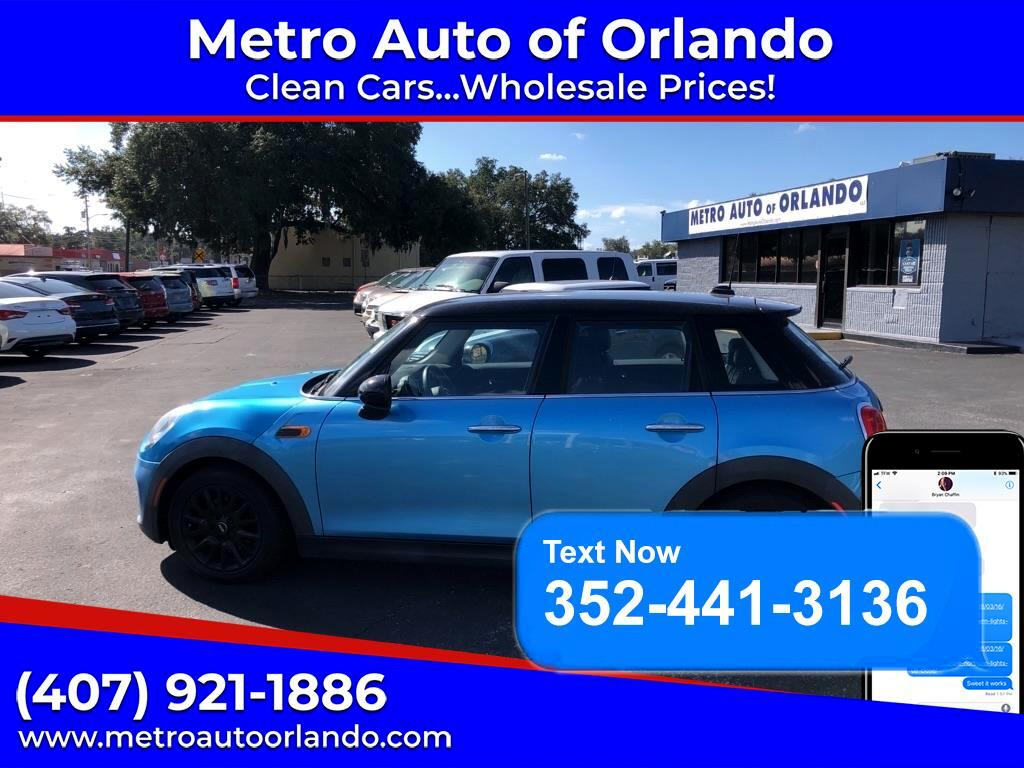 MINI Cooper Hardtop 4 Door 4dr HB 2016