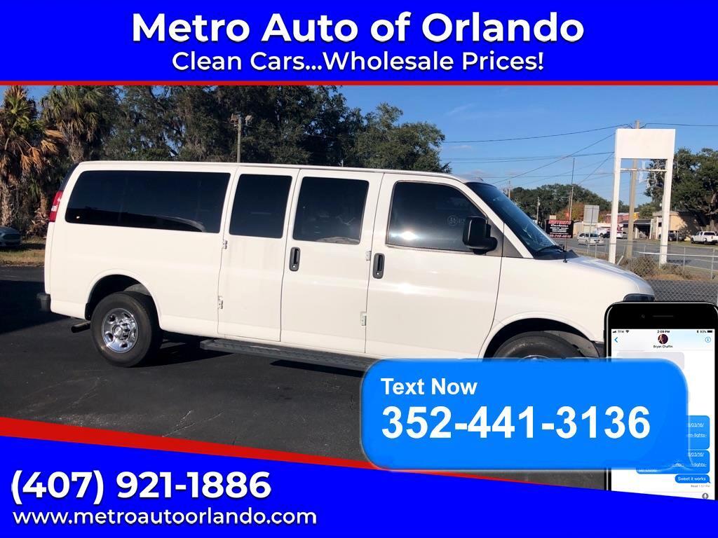 "Chevrolet Express Passenger RWD 3500 155"" 1LT 2017"