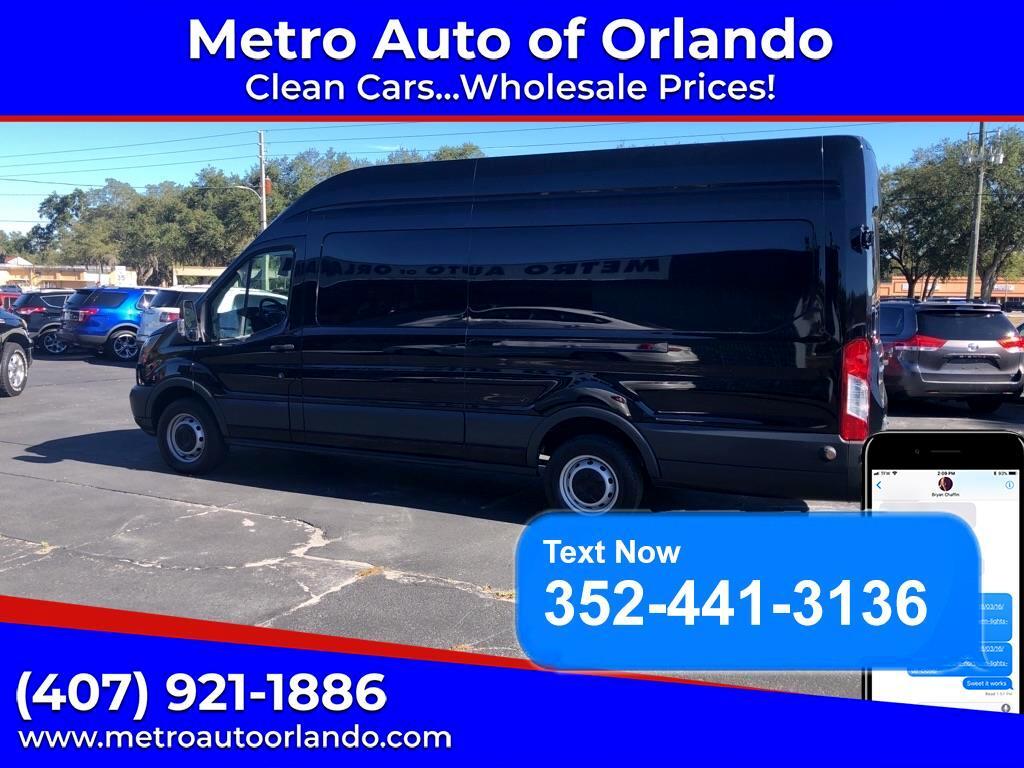 "Ford Transit Cargo Van T-250 148"" EL Hi Rf 9000 GVWR Sliding RH Dr 2016"