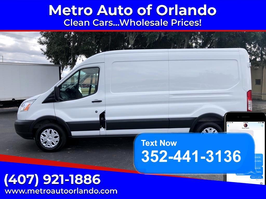 "Ford Transit Cargo Van T-250 148"" Med Rf 9000 GVWR Sliding RH Dr 2015"