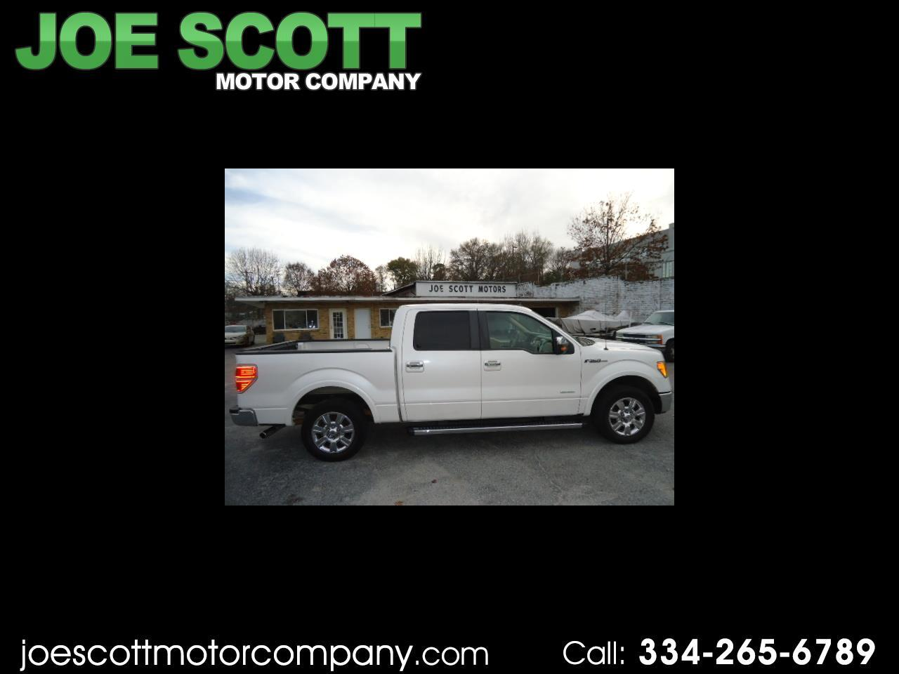 Ford F-150 Lariat SuperCrew 5.5-ft. Bed 2WD 2011