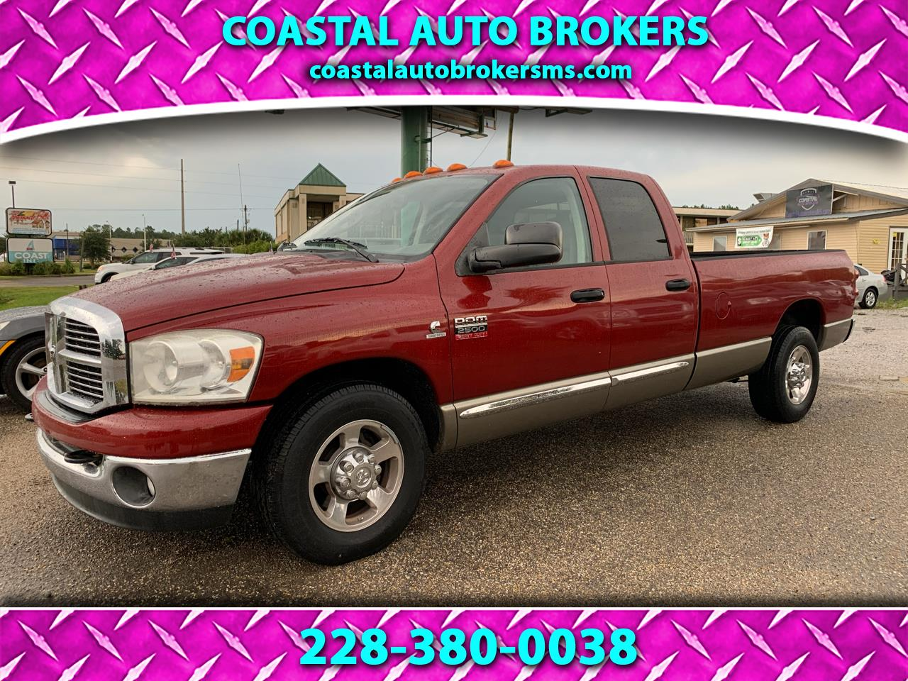 Dodge Ram 2500 SXT Quad Cab Long Bed 2WD 2008