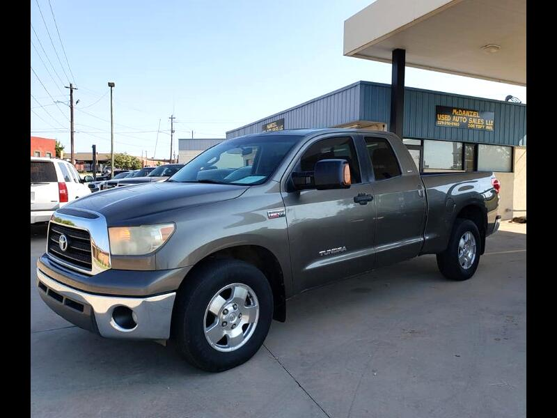 Toyota Tundra SR5 Double Cab 6AT 2WD 2007