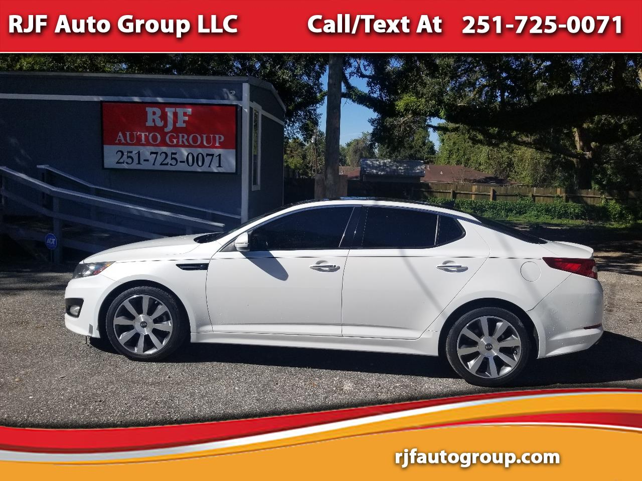 2012 Kia Optima 4dr Sdn SX w/Chrome Limited Pkg