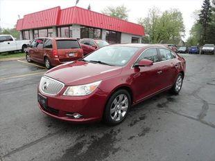 2010 Buick LaCrosse 4dr Sdn CXL