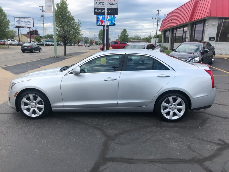 2013 Cadillac ATS 4dr Sdn 3.6L Luxury AWD