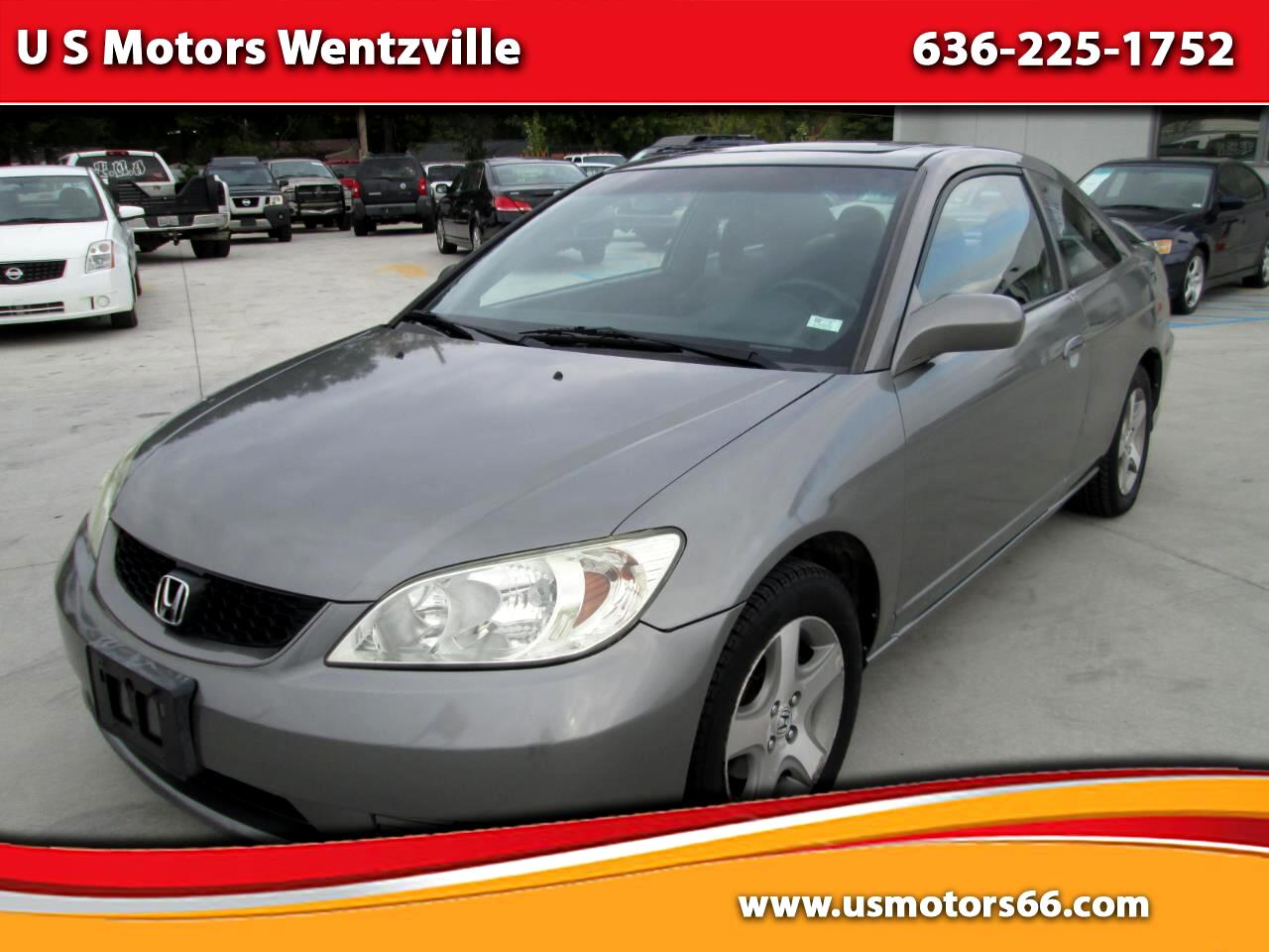 2005 Honda Civic EX Coupe AT w/ Front Side Airbags