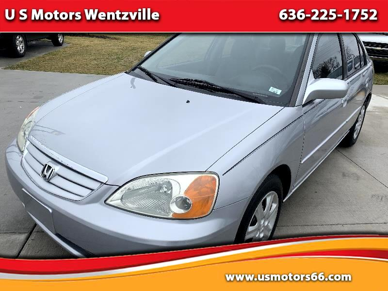 Honda Civic EX Sedan 4-spd AT with Front Side Airbags 2003