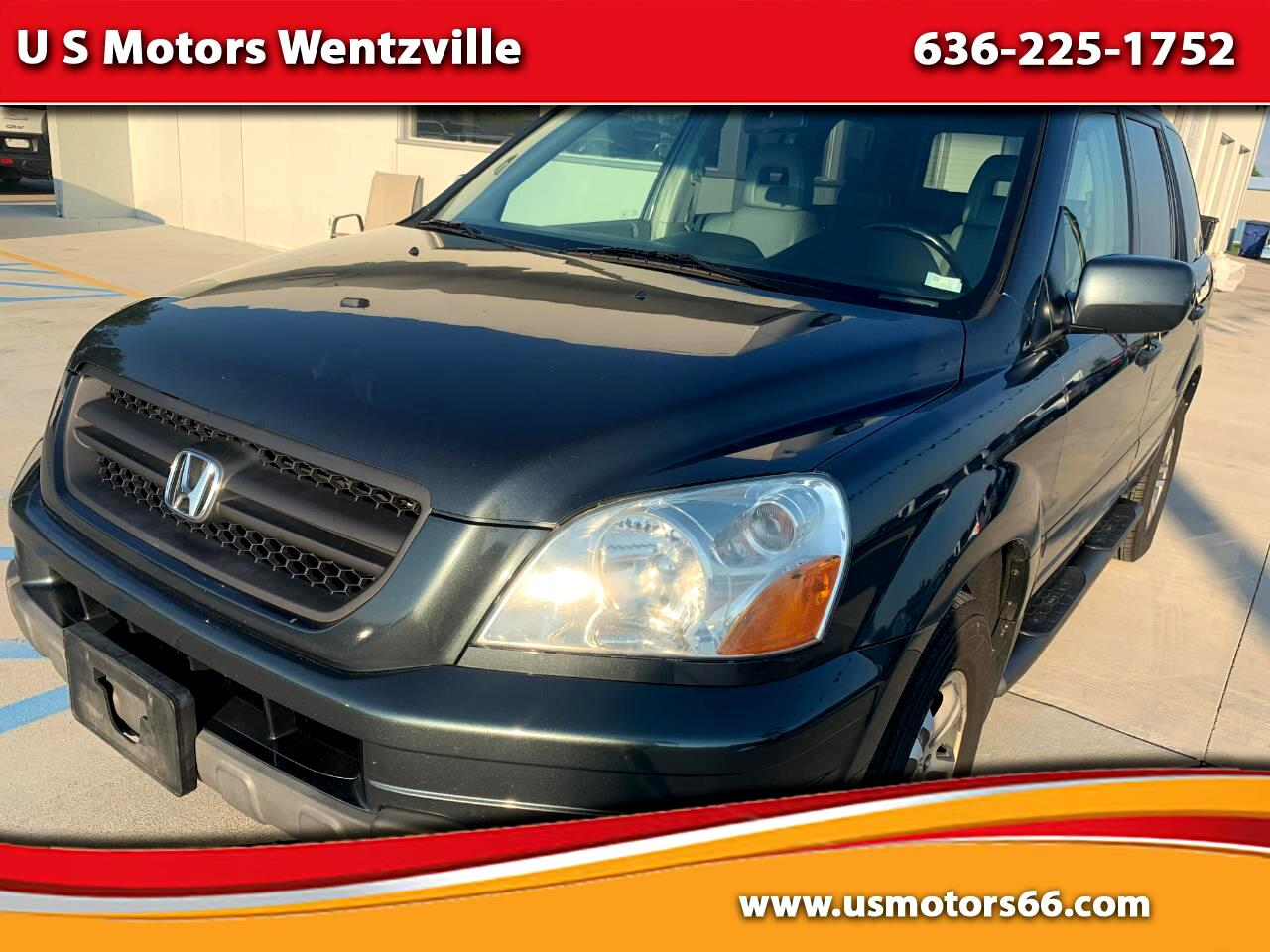 Honda Pilot 4WD EX Auto w/Leather/DVD 2004