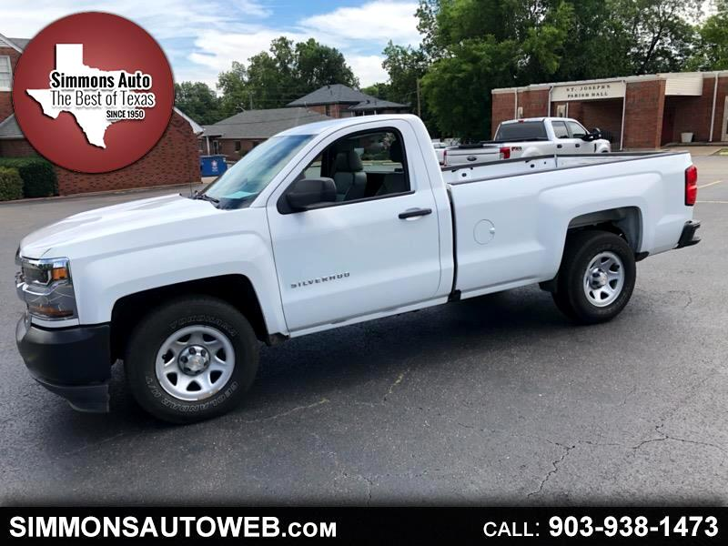 2016 Chevrolet Silverado 1500 Work Truck Short Box 2WD