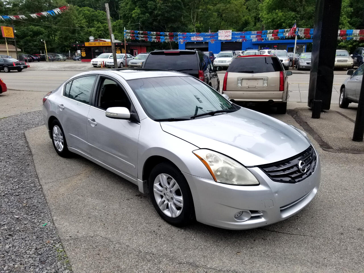 Used 2011 Nissan Altima 2 5 S for Sale in Pittsburgh PA
