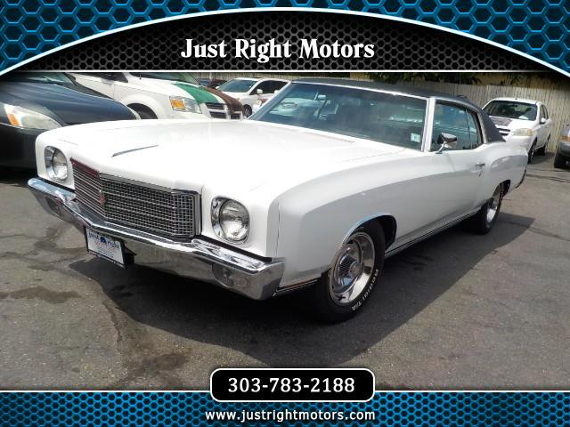 1970 Chevrolet Monte Carlo 2dr Coupe LS