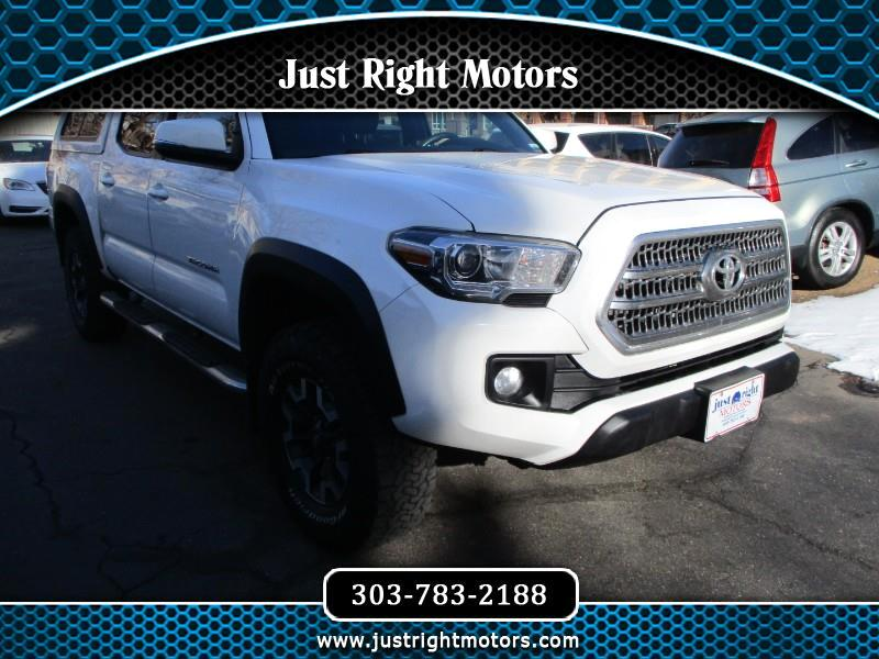 Toyota Tacoma TRD Off Road Double Cab 5' Bed V6 4x4 AT (Natl) 2016