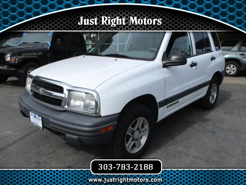 Chevrolet Tracker 4-Door 4WD 2003