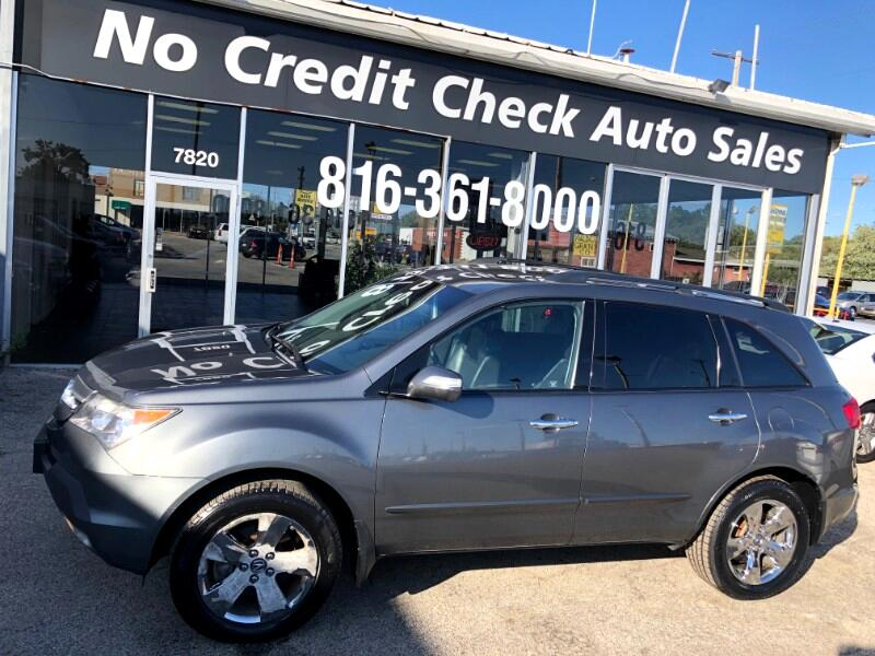 2008 Acura MDX Sport Package with Power Tailgate