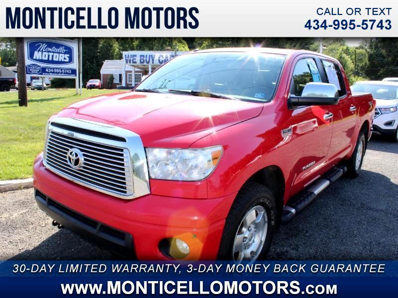 Toyota Tundra Limited 5.7L CrewMax 4WD 2011