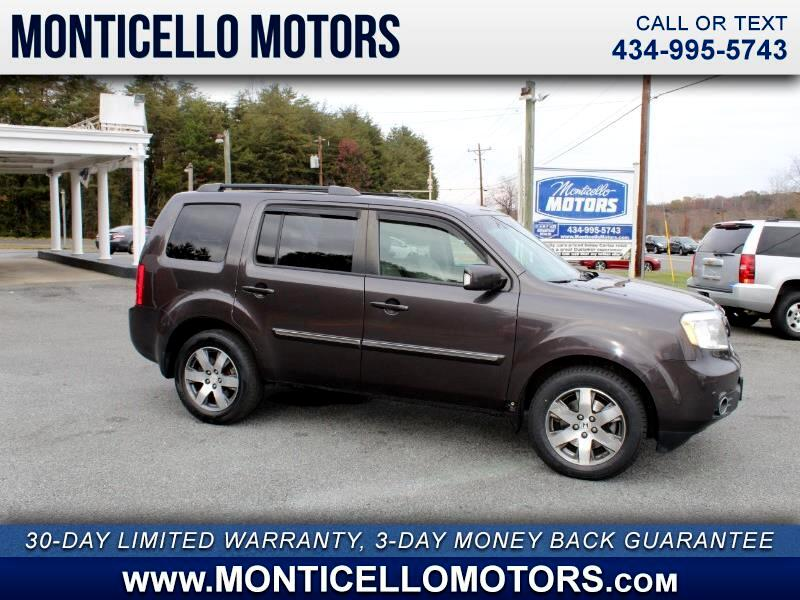 Honda Pilot Touring 4WD 5-Spd AT with DVD 2013