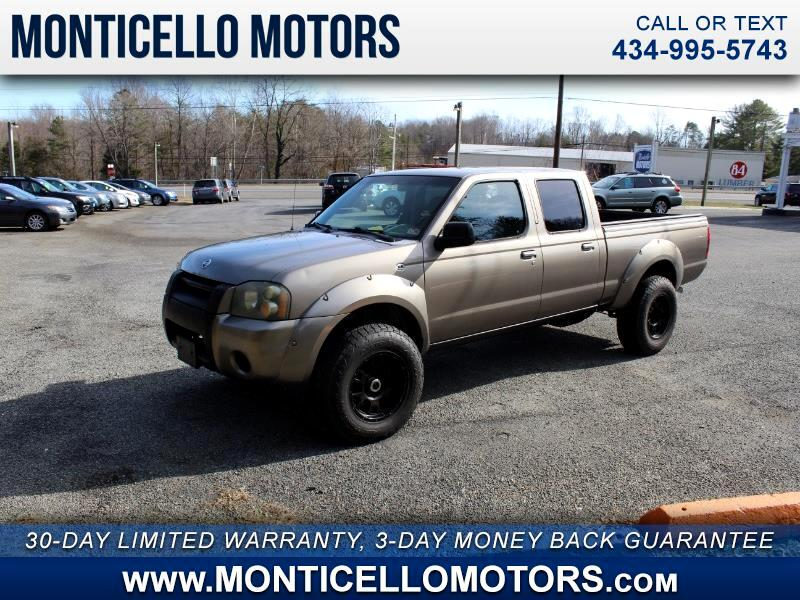 Nissan Frontier XE-V6 Crew Cab Long Bed 4WD 2004