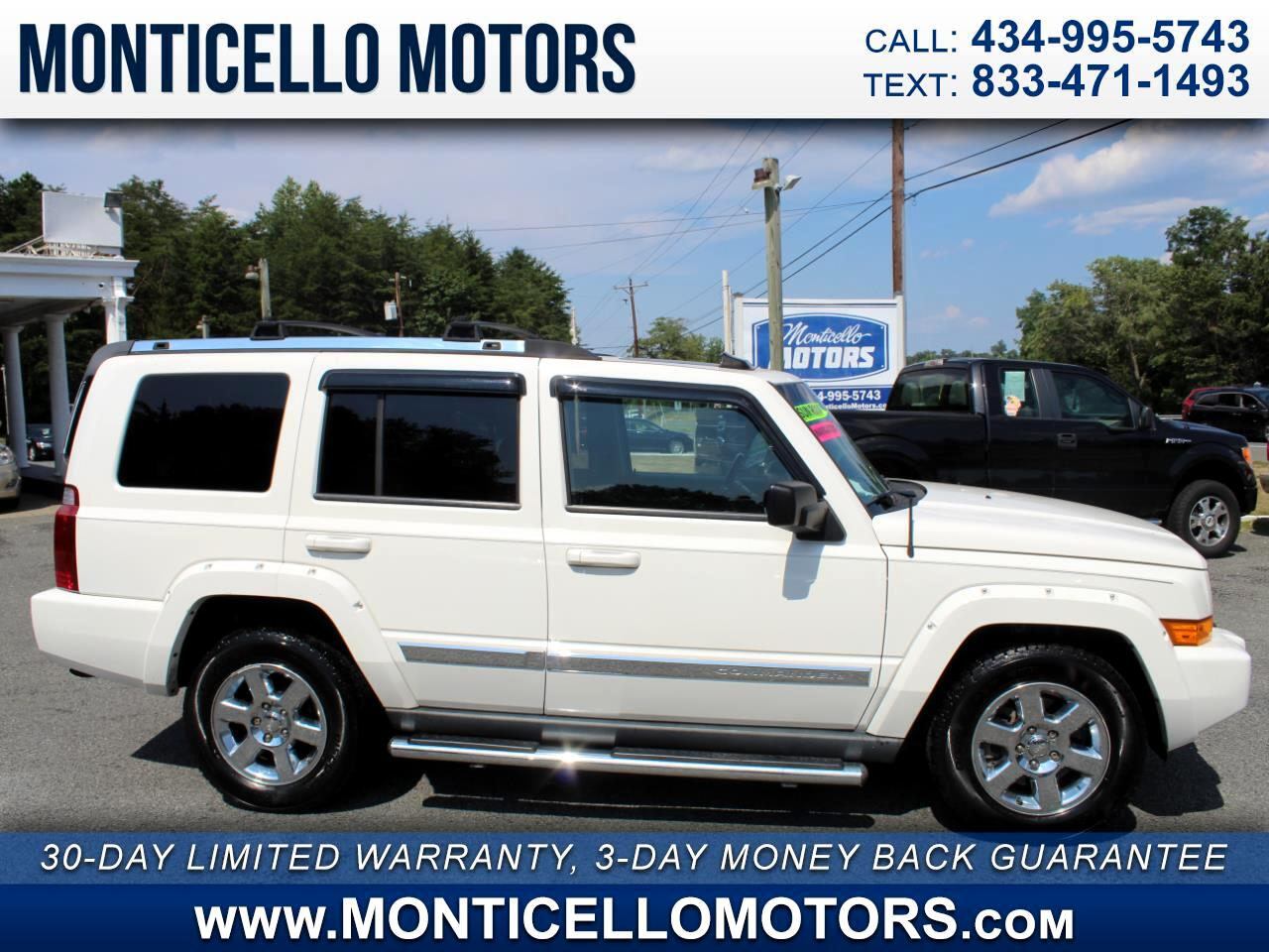 Jeep Commander Limited 4WD 2008