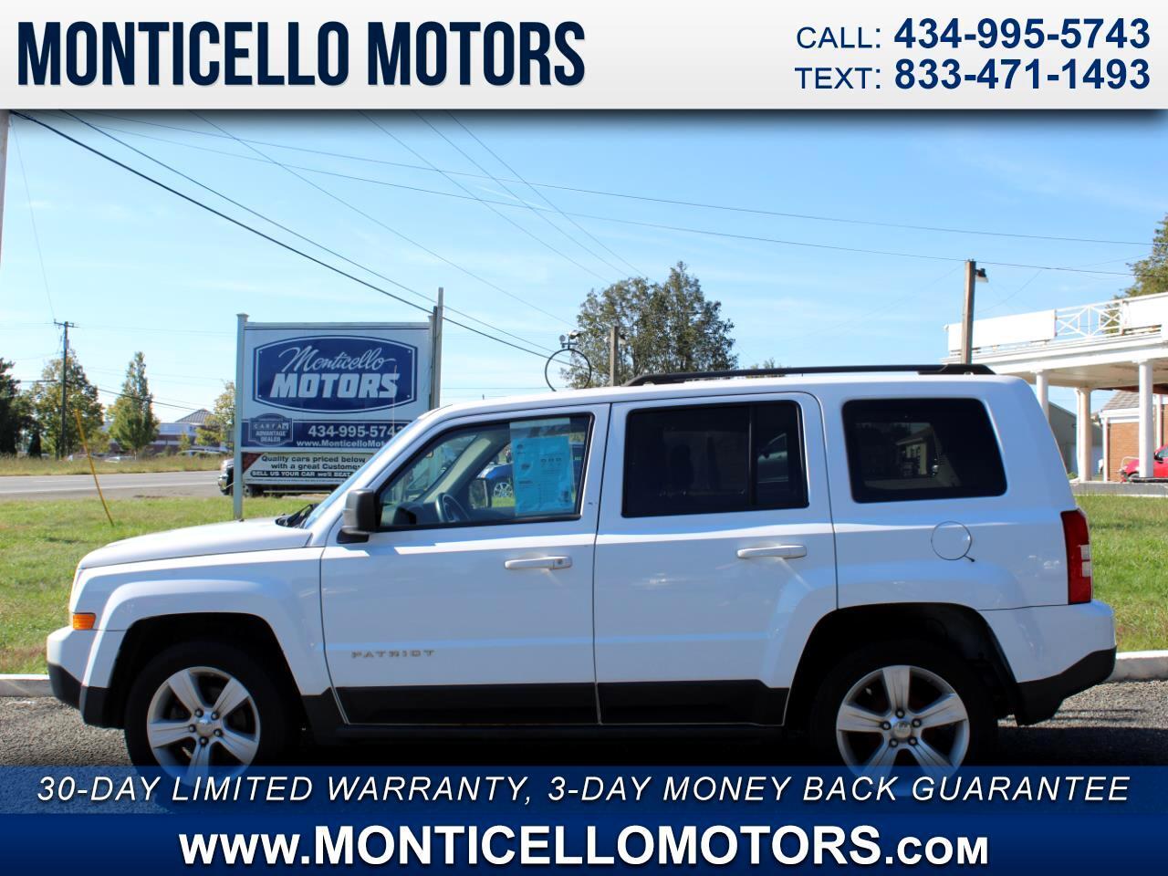 Jeep Patriot Latitude 2WD 2012