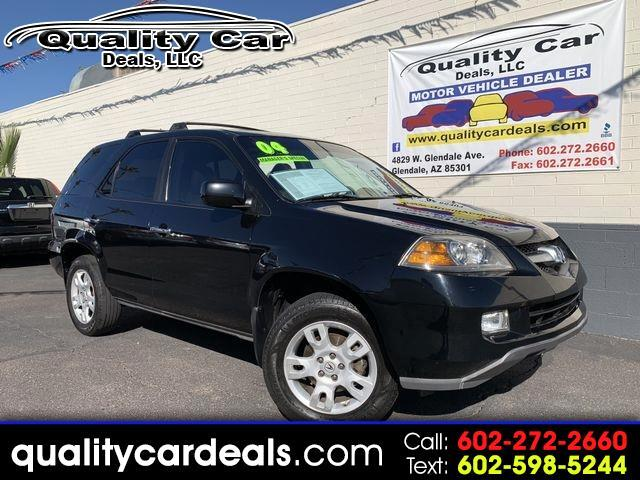 2004 Acura MDX Touring with Rear DVD System