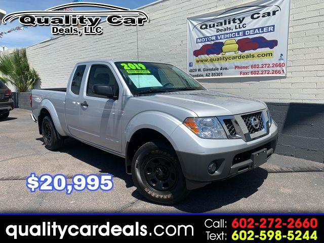 Nissan Frontier SV King Cab I4 5AT 2WD 2019