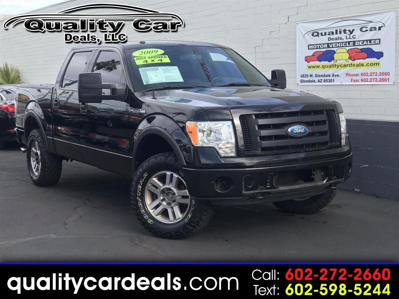 Ford F-150 FX4 SuperCrew 5.5-ft. Bed 4WD 2009