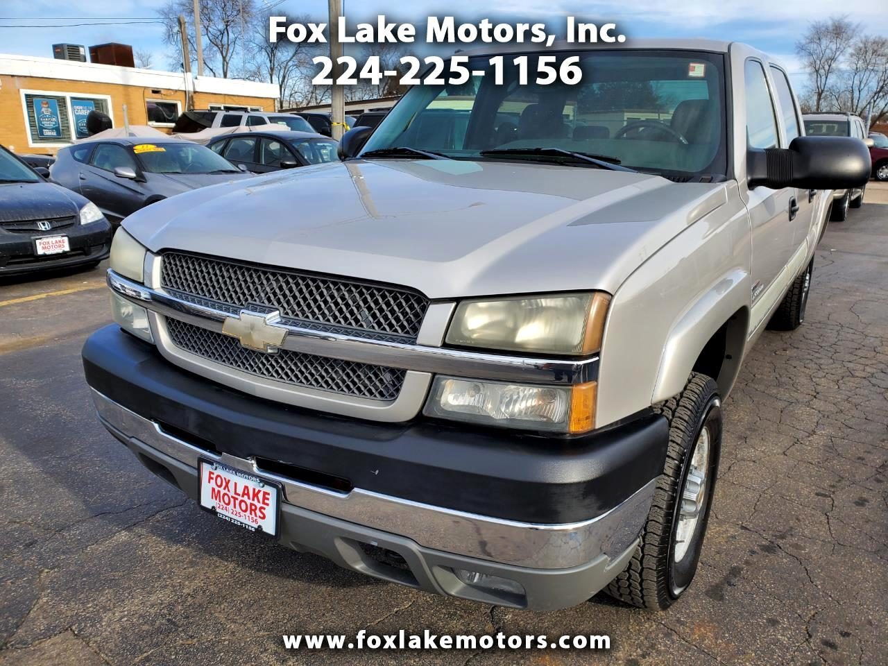 Chevrolet Silverado 2500HD LS Crew Cab Short Bed 4WD 2004