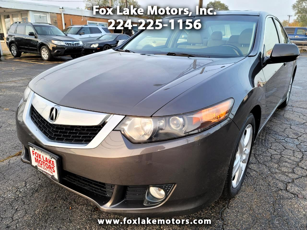 Acura TSX 5-Speed AT with Tech Package 2009