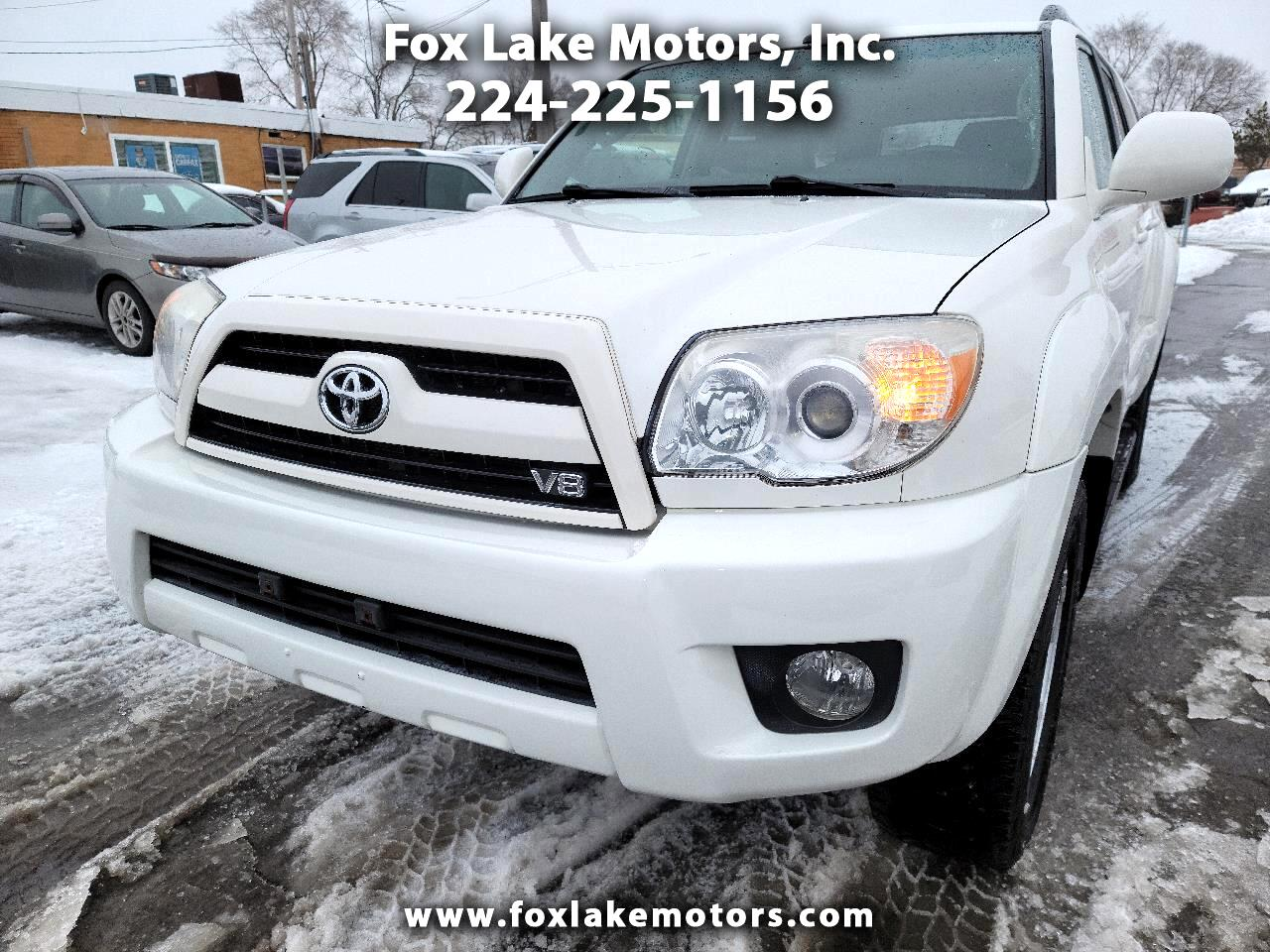 Toyota 4Runner Limited V8 4WD 2007