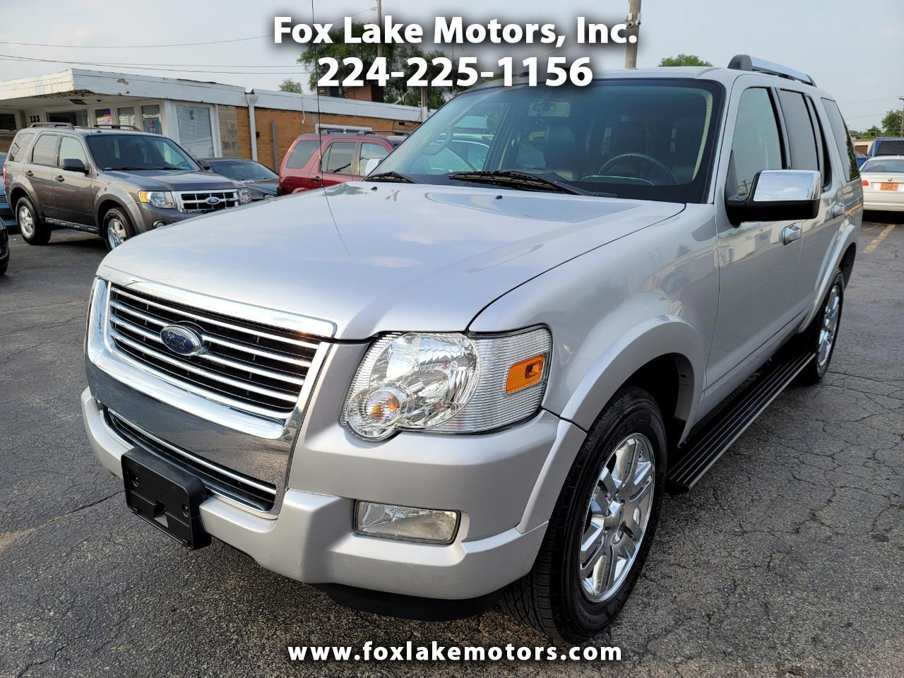 Ford Explorer Limited 4.0L 4WD 2010