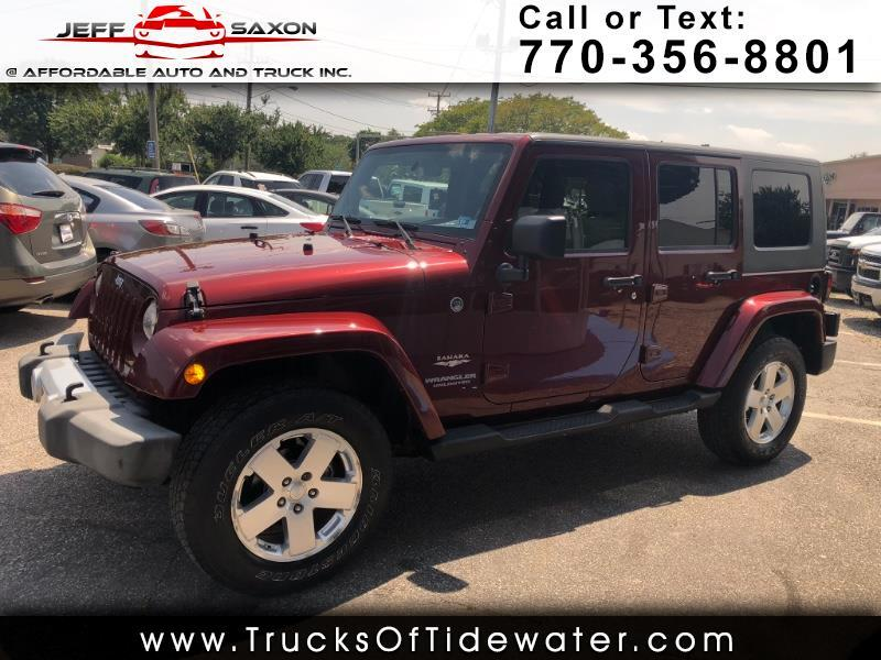 2009 Jeep Wrangler Unlimited Sahara 4WD