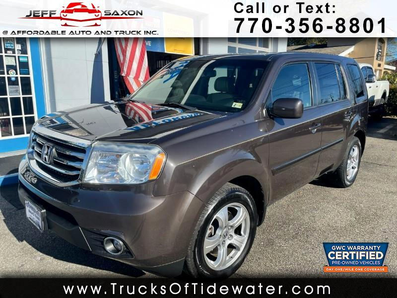 Honda Pilot EX-L 4WD 5-Spd AT with Navigation 2012