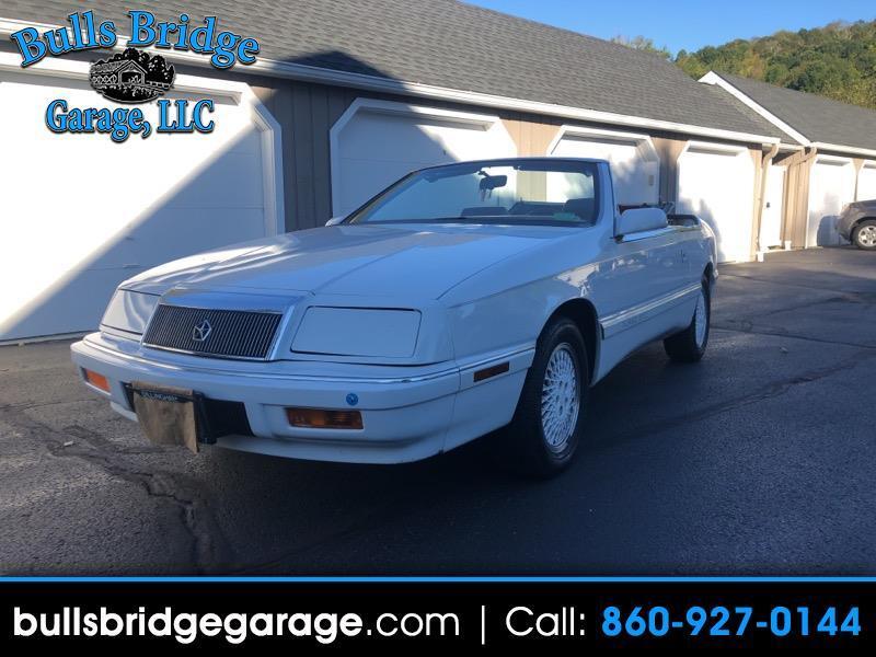Chrysler LeBaron Highline convertible 1988