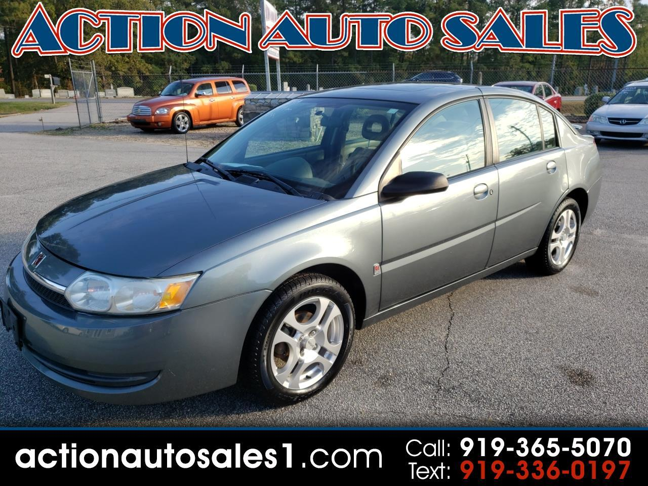 2004 Saturn ION 4dr Sdn Manual ION 2