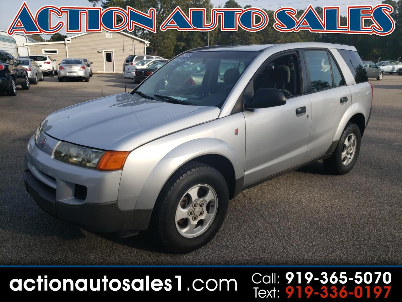 2003 Saturn VUE VUE FWD Manual