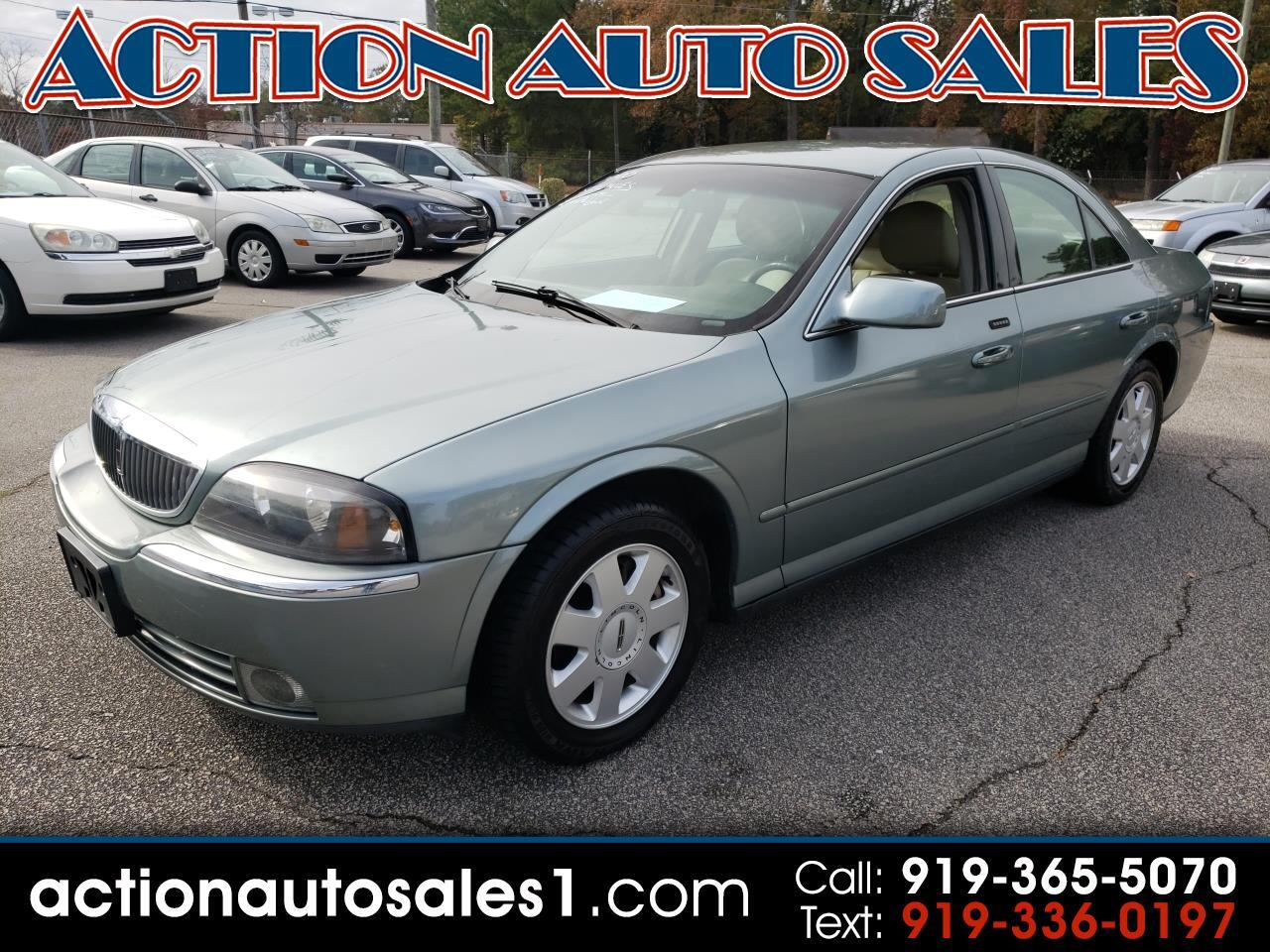 2005 Lincoln LS 4dr Sdn V6 Auto w/Luxury Pkg