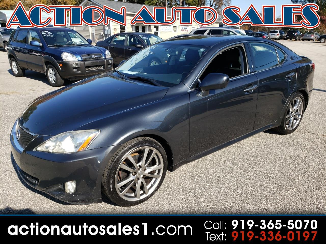 2008 Lexus IS 250 4dr Sport Sdn Man RWD
