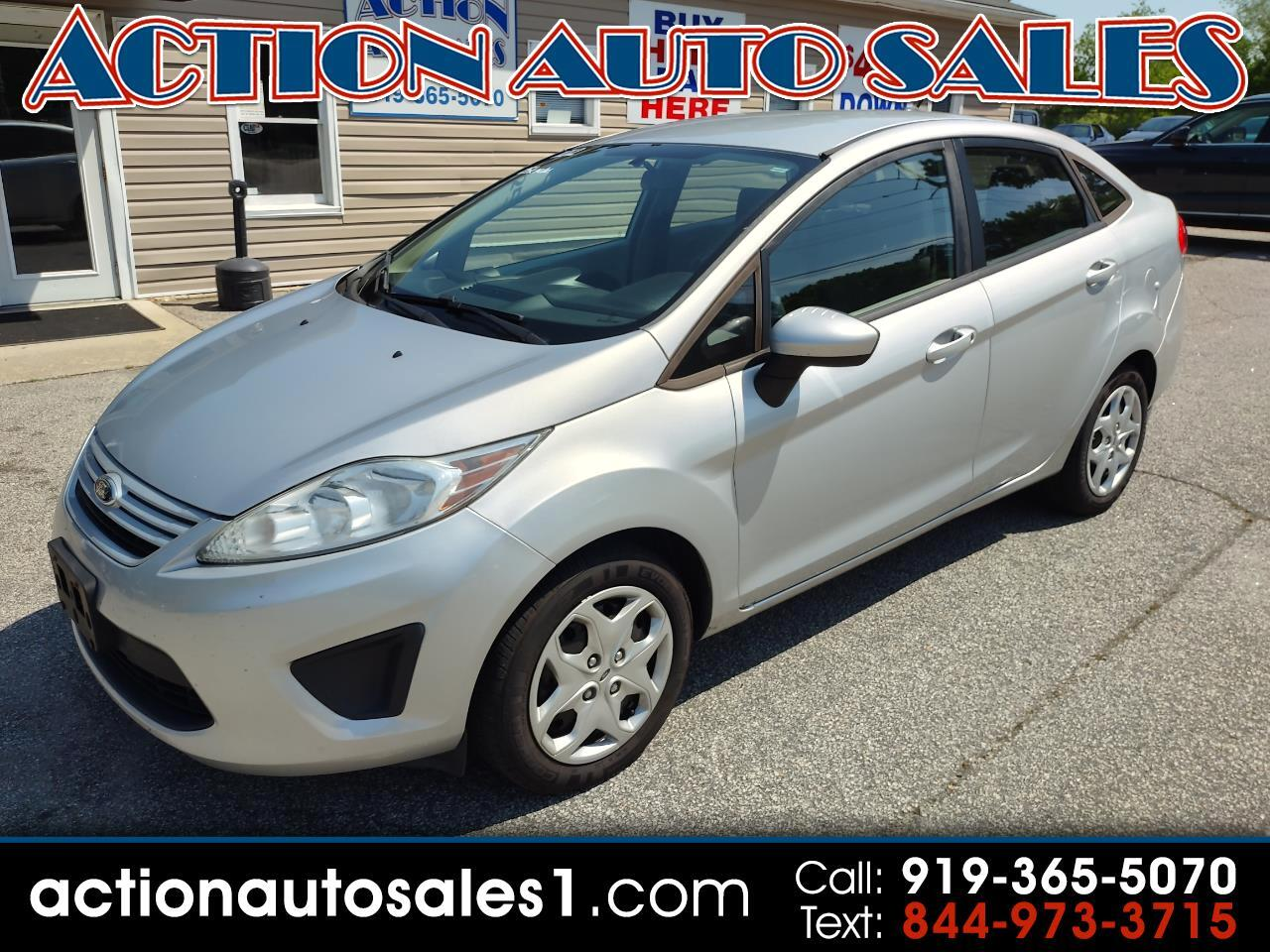 Ford Fiesta 4dr Sdn S 2012