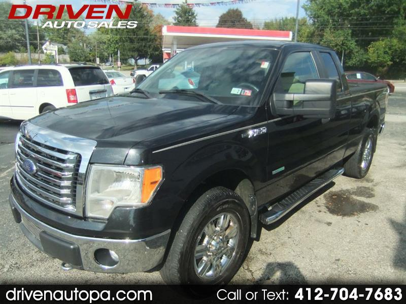 2012 Ford F150 XL SuperCab 8-ft. Bed 4WD