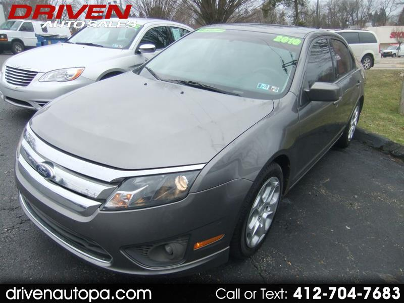 Ford Fusion 4dr Sdn I4 SE FWD 2010