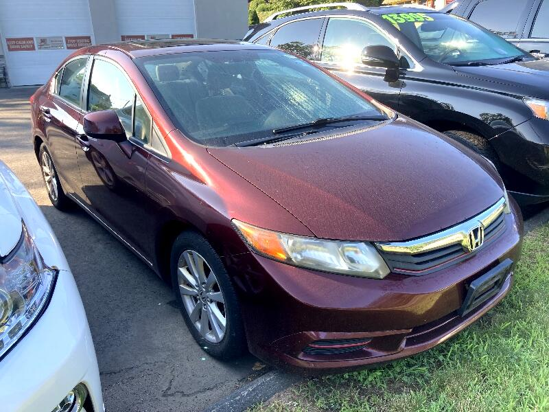 Honda Civic EX Sedan 5-Speed AT 2012