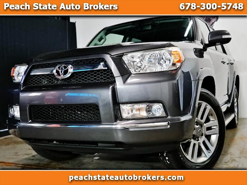 2013 Toyota 4Runner 4dr Limited V6 Auto 4WD (Natl)