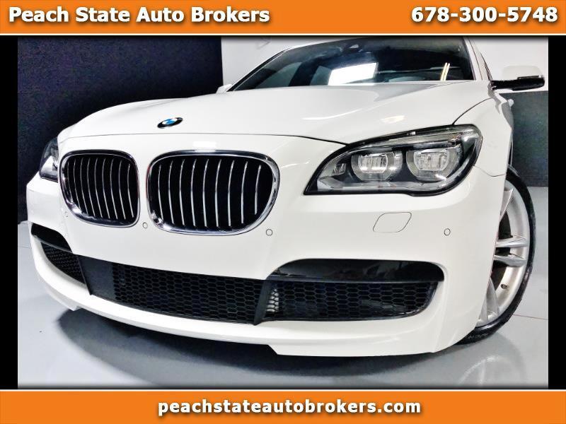 BMW 7-Series 750Li 2014