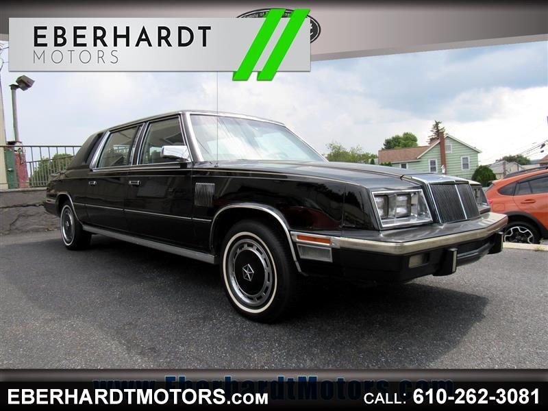 1983 Chrysler Executive Sedan