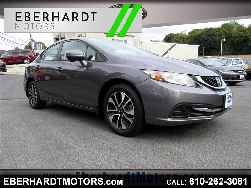 Honda Civic EX Sedan CVT 2014