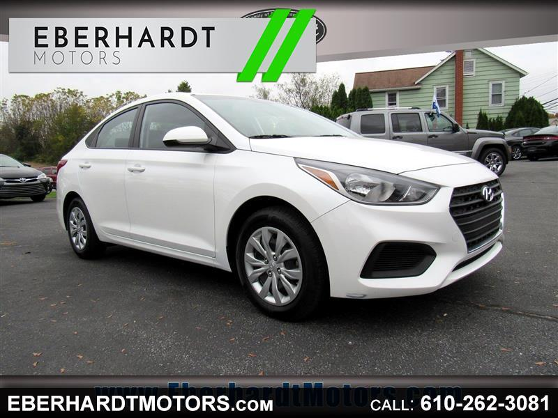 2018 Hyundai Accent SE 4-Door 6A