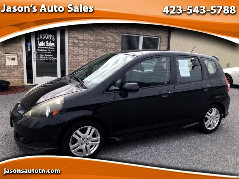 Honda Fit Sport 5-Speed MT 2008