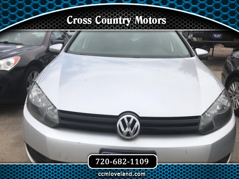 2012 Volkswagen Golf 2.5L Conv & Sunroof 4 Door PZEV