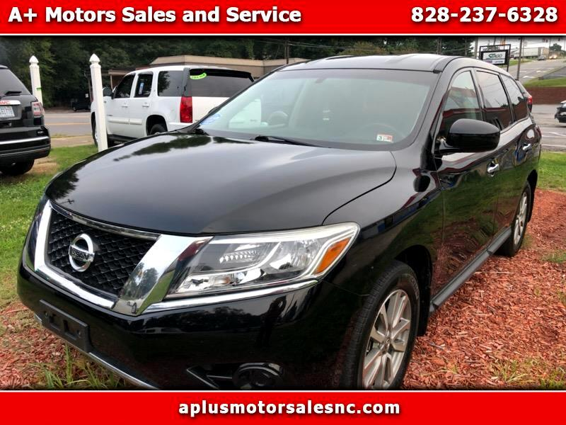 used 2014 nissan pathfinder sl 2wd for sale in hickory nc 28601 a plus motors sales and service a plus motors sales and service